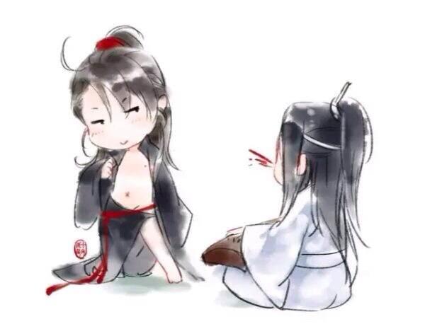 【魔道祖师】【忘羡】忘羡今天撒糖了咩(。>∀<。)!